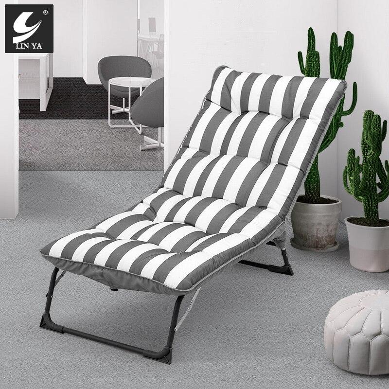 Chaise inclinable pliante sieste lit dossier chaise paresseux canapé ménage multifonctionnel portable chaise inclinable
