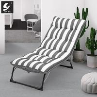 Mobilya'ten Armut Kanepeler'de Katlanır uzanmış sandalye şekerleme yatak arkalığı sandalye tembel kanepe ev çok fonksiyonlu taşınabilir katlanır uzanmış sandalye