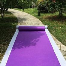 Аксессуары для свадебных церемоний, фиолетовые Ковровые Коврики для вечеринок и мероприятий в помещении