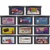 32 Bit Video Game Cartridge Console Card for Nintendo GBA SPT SPG Sports Game Series Edition