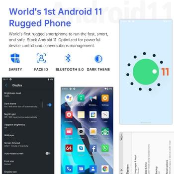 Oukitel WP12 Rugged IP68/69K SmartPhone 4GB+32GB 4000mAh Quad Core Android11 Mobile Phone 5.5'' HD+500W/1300W 13MP Camera Phone 4