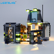 Lightaling Led Light Kit For Stygimoloch Breakout Toys Building Blocks Compatible With 75927 ( Lighting Set Only ) lightaling led light set for famous brand 10182 15002 make