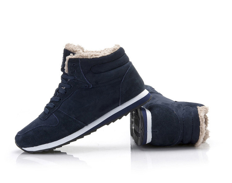 H12786d9e38584c20856c1ef152745c5el Men Shoes Winter Sneakers Suede Leather Tenis Trainers Mans Footwear Warm Winter Shoes Basket Homme Mens Shoes Casual Plus Size