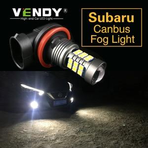 1pcs Car LED Light Lamp H8 H11 H16 9006 HB4 PSX24W For Subaru Legacy Forester Impreza Outback Tribeca Crosstrek XV BRZ WRX STI(China)