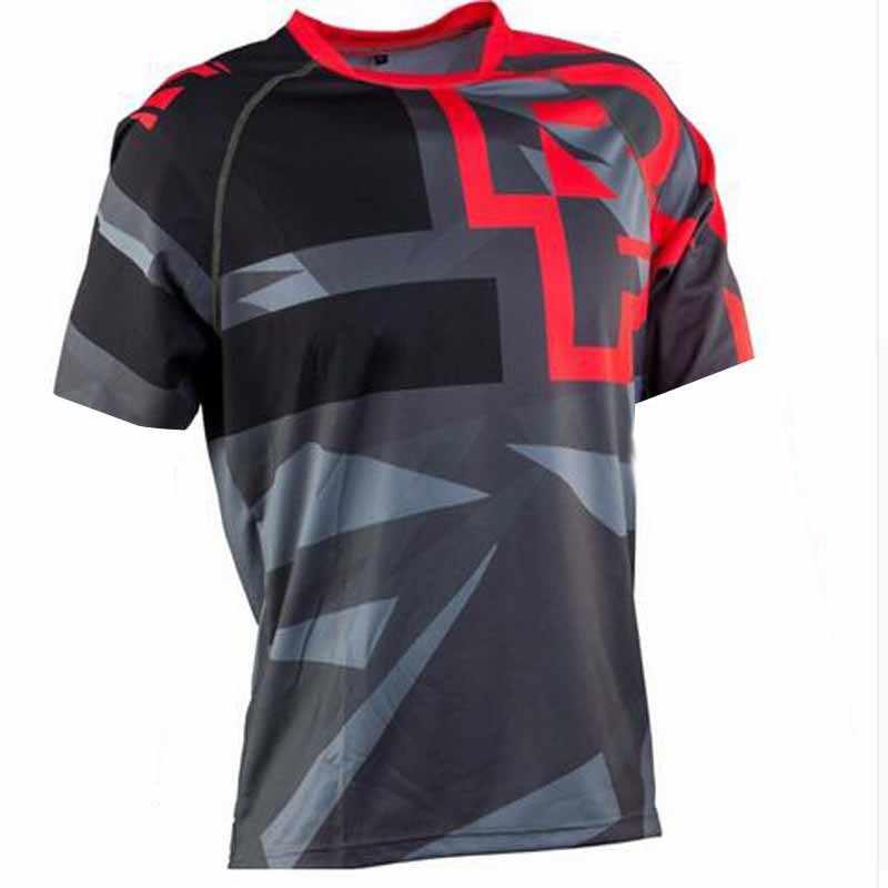 Mannen Downhill Jerseys Race Face Mountainbike Mtb Shirts Offroad Dh Motorfiets Jersey Motocross Sportwear Bmx Kleding