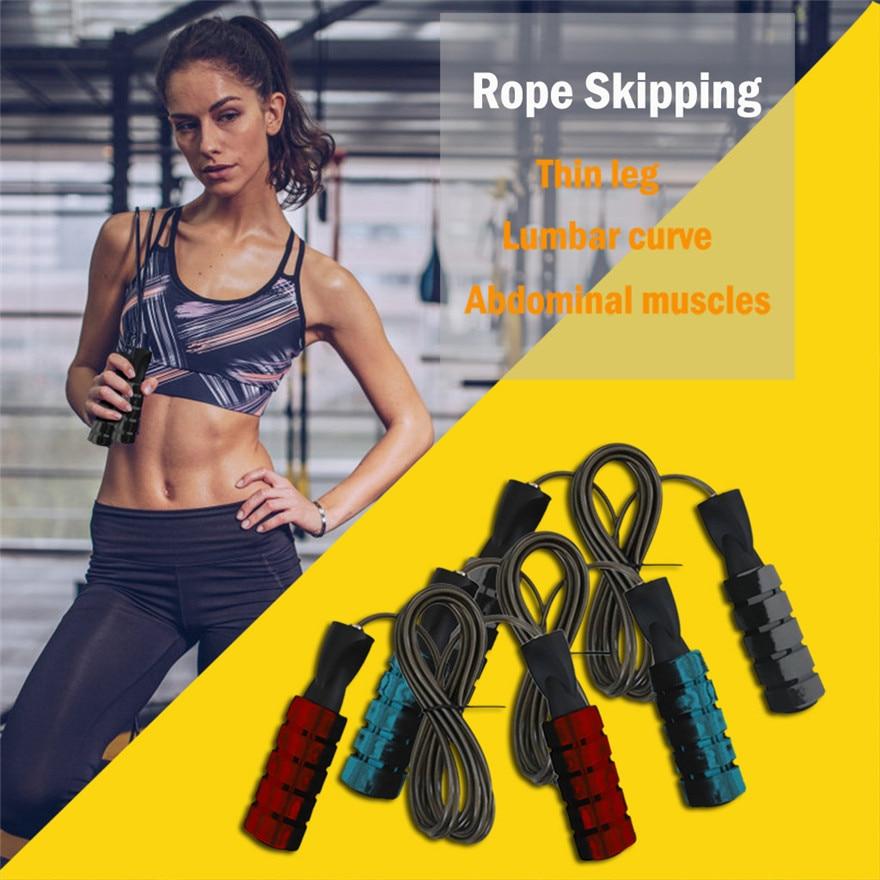Yoga Fitness Pilates Sports Training Jump Rope Indoor Sports Training Equipment Bearing Design, No Winding, No Knots
