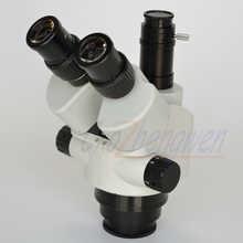 FYSCOPE NEW ARRIVE MICROSCOPE 7X-45X Simul-Focal Trinocular Zoom Stereo Microscope Head SZM45TN - DISCOUNT ITEM  48% OFF Tools