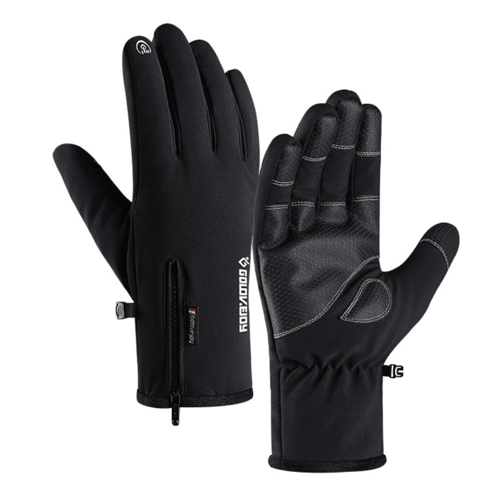 New Winter Gloves Waterproof Touchscreen Gloves Anti-slip Cycling Thicken Warm Gloves For Running Climbing Skiing Riding