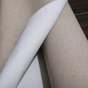 Image 4 - Tela de linho primida para pintura a óleo, material à prova dágua para pintura à óleo, de camada de alta qualidade, 5m um rolo