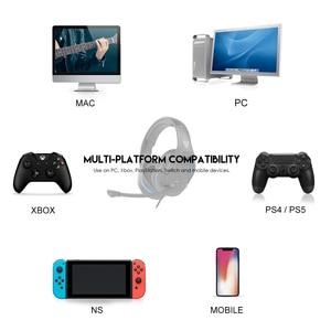 Image 2 - Fantech MH86 السلكية لعبة سماعة 3.5 مللي متر الصوت المحيطي رغوة الذاكرة الأذن وسادة مع ميكروفون و واحد بدوره اثنين المكونات ل PC PS4 PS5