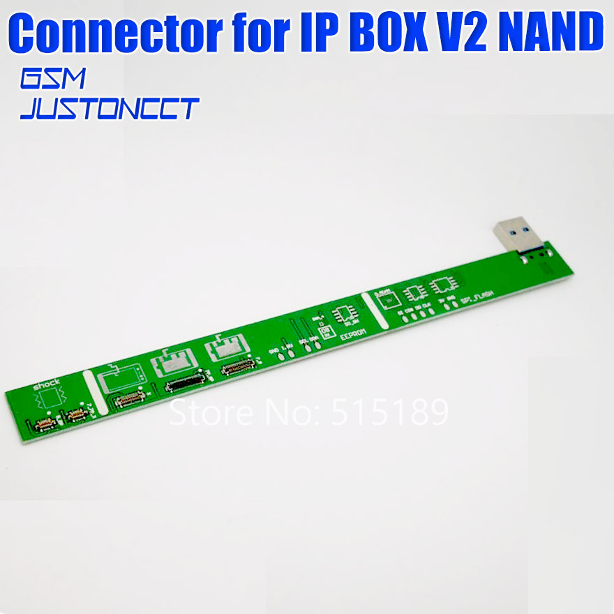 2020 NEW Original Photosensitive Repair Connector For IP BOX V2 IP BOX 2th NAND PCIE 2in1 High Speed Programmer