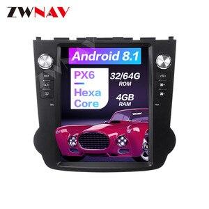 Carplay DSP Android 9 PX6 вертикальный Тесла экран радио Автомобильный мультимедийный плеер стерео GPS навигация для Honda CRV 2006-2011