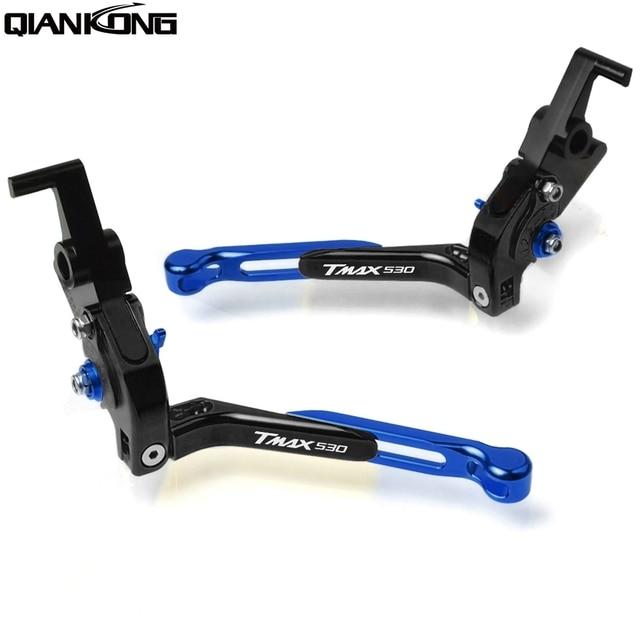 For YAMAHA TMAX-500  2001 2002 2003 2004 2005 2006 2008 TMAX500 Motorcycle CNC Adjustable Brake Clutch Levers handle