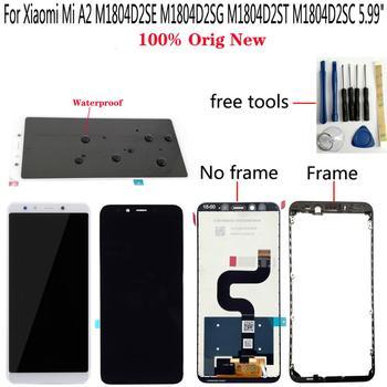 Shyueda  100% Original New For Xiaomi Mi A2 6X M1804D2SE M1804D2SG M1804D2ST M1804D2SC 5.99