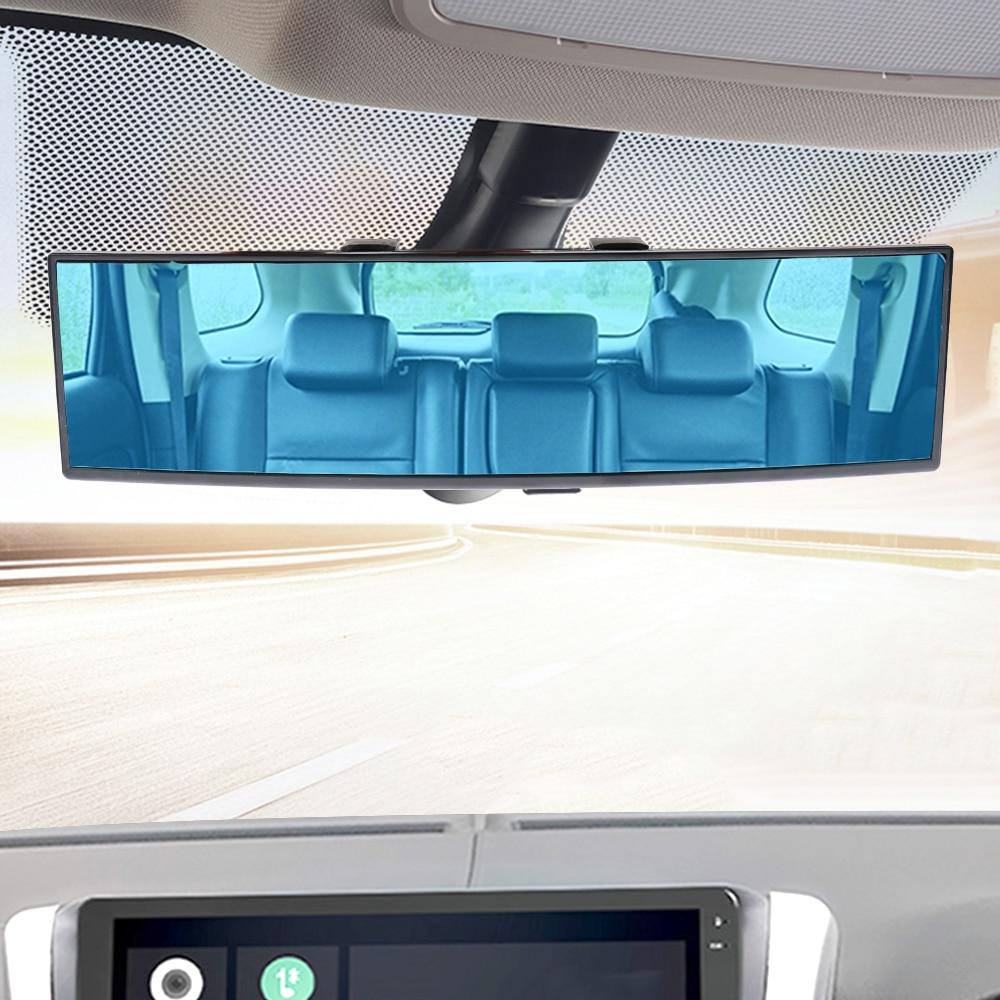 Leepee 자동차 후면보기 미러 각도 파노라마 자동 보조 미러 베이비 백미러 대형 비전 자동차 인테리어 액세서리