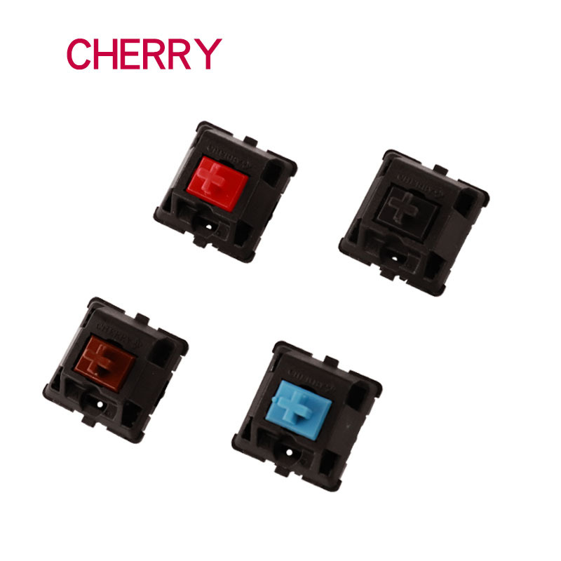 Original MX Cherry Mechanical Switch Black Blue Red Brown 3-pin Cherry Switch For Swap Mechanical Keyboard