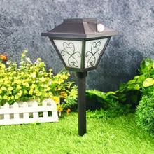 Светильники для дорожек на солнечной батарее, декоративные светильники для дорожек, наружное ландшафтное освещение, водонепроницаемые LPL167