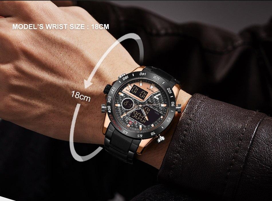 Naviforce NF 9171 Fashion Quartz Watch 8