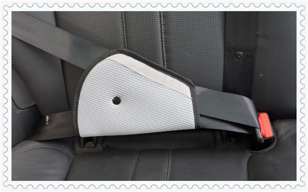 BLUE JAGUAR SEAT ADJUSTABLE SAFETY BELT STOPPER CLIP CAR TRAVEL 2PCS
