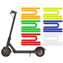 Отражающие наклейки для скутера Xiaomi Mijia M365 Pro, 4 шт./компл., отражатель для электрического скутера, водонепроницаемые аксессуары для скутера и...