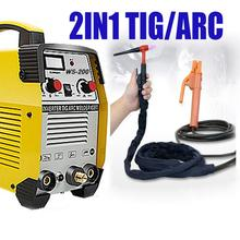 Cварочный агрегат TIG ARC TIG функциональный сварочный газообразный сварщик полный комплект умный контроль TIG машина