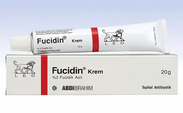 Fucidin Cream Fucidic Acid Dermatitis, Acne Scars, Wrinkles And Psoriasis. Health, Happiness, Beauty