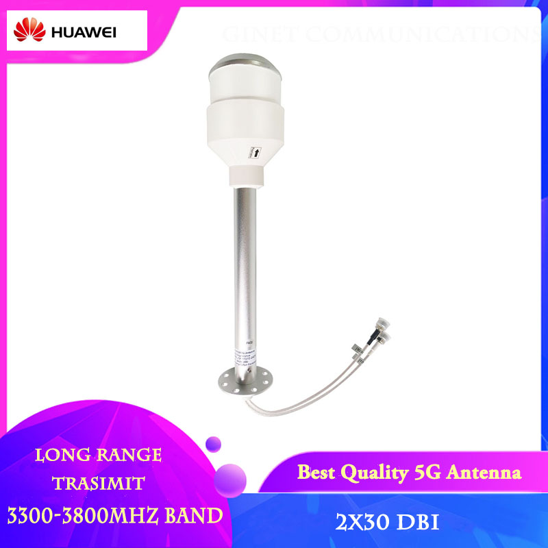 New Arrival 5G 3500mhz 2x30dbi Antenna 5g Signal Booster 3300-3800MHz MIMO Horn Long Range Type Atenna Support 5G 4G 3G