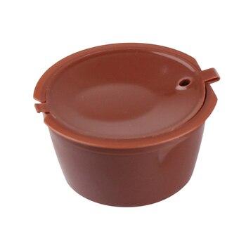 1 cápsula de café para todos los modelos Nescafe Dolce Gusto reutilizable rellenable café filtros cestas Pod sabor suave dulce 5,2*5,2 cm