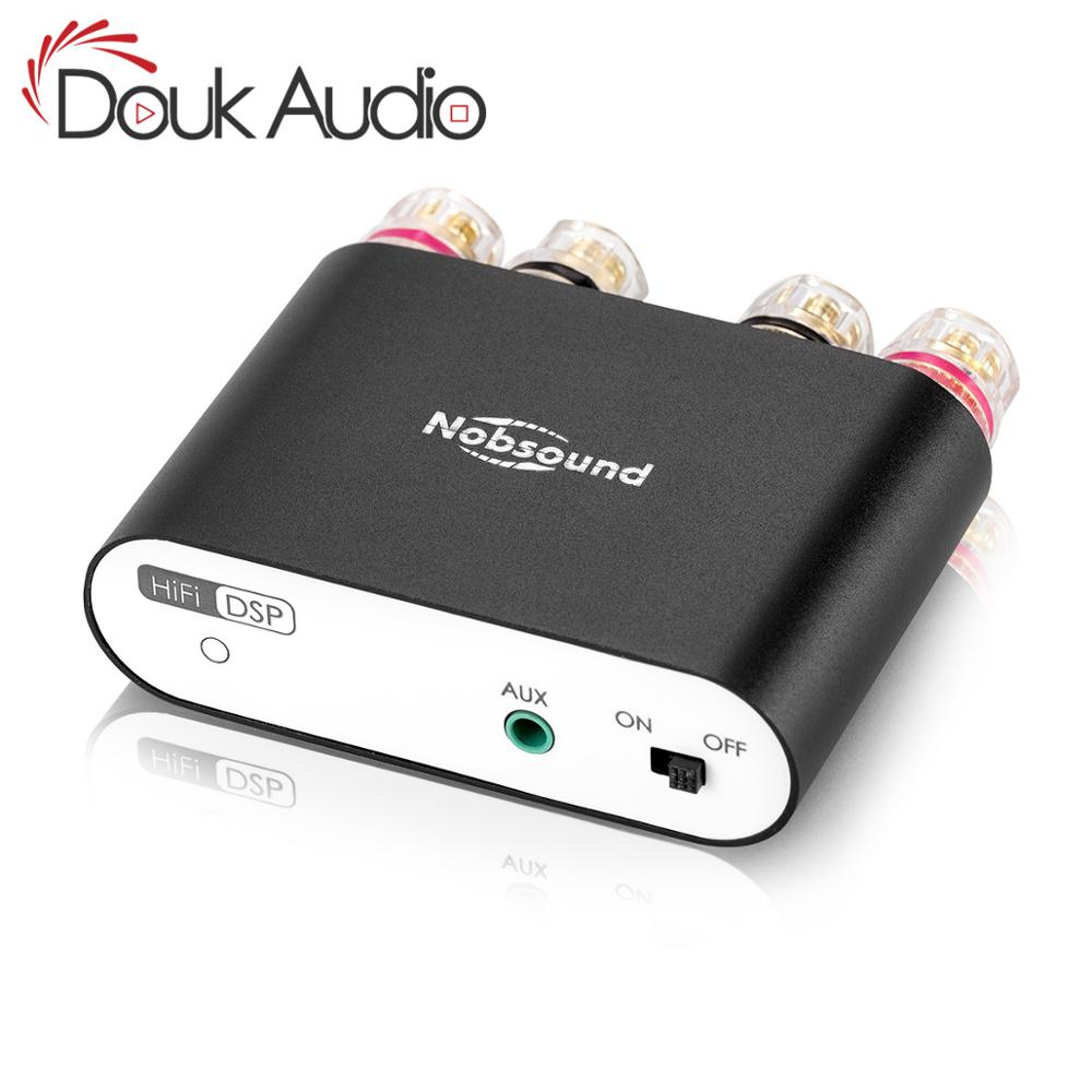 2019 Douk audio Hi-Fi TPA3116 Digital Amplifiers Stereo Mini DSP Bluetooth 4.2 Home Audio Desktop Power Amplifier 50W*2 image