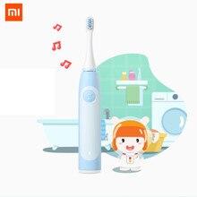 2020 novo Xiaomi Mitu Crianças Electrique Brosse UM Dente Sonora escova de Dentes Elétrica Recarregável Escovar O Cabelo Macio Coelho Dos Desenhos Animados
