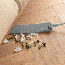 telescopic dust remover brush home bed bottom gap cabinet ceiling window long handle mop duster detachable dust cleaning tool Bedside Dust Brush Long Handle Mop Household Bed Bottom Gap Clean Fur Hair Sweeping Dusty Magic Microfibre Duster
