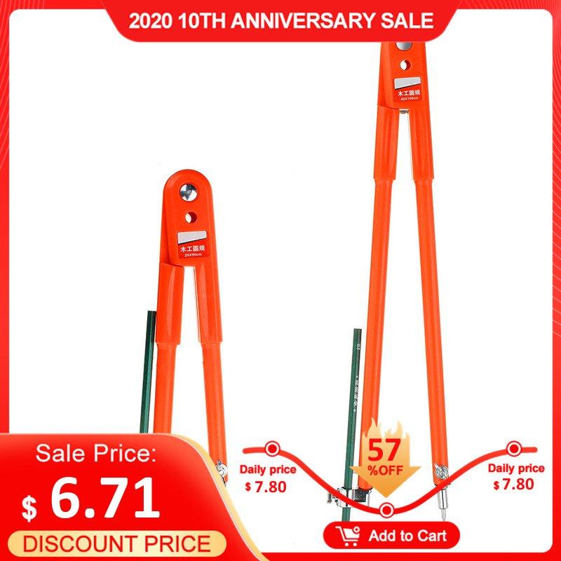 Rund Kennzeichnung Werkzeug Linie Gauge Abstand Holzbearbeitung Compasss Kennzeichnung Ritzen Handwerk Design Layout Werkzeug 90/150cm Durchmesser