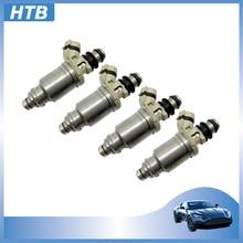 цена на 2-4Pcs High Quality Fuel Injector Nozzle 195500-5670 MD308861 For Mitsubishi Pajero V20 3.0L Montero 1995-1996 New 195500 5670