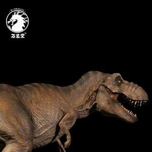Image 4 - Stokta var!!W ejderha 1:35 ölçekli Rexy heykeli kadın Tyrannosaurus Rex Jurassic dinozor t rex toplayıcı Dino yetişkinler oyuncak hediye
