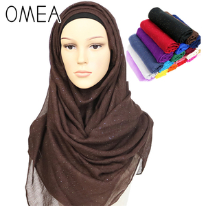 hijab scarf head scarf chiffon hijab silk winter scarf hot stamping glitter men scarf women shawl Foil gold silver autumn winter