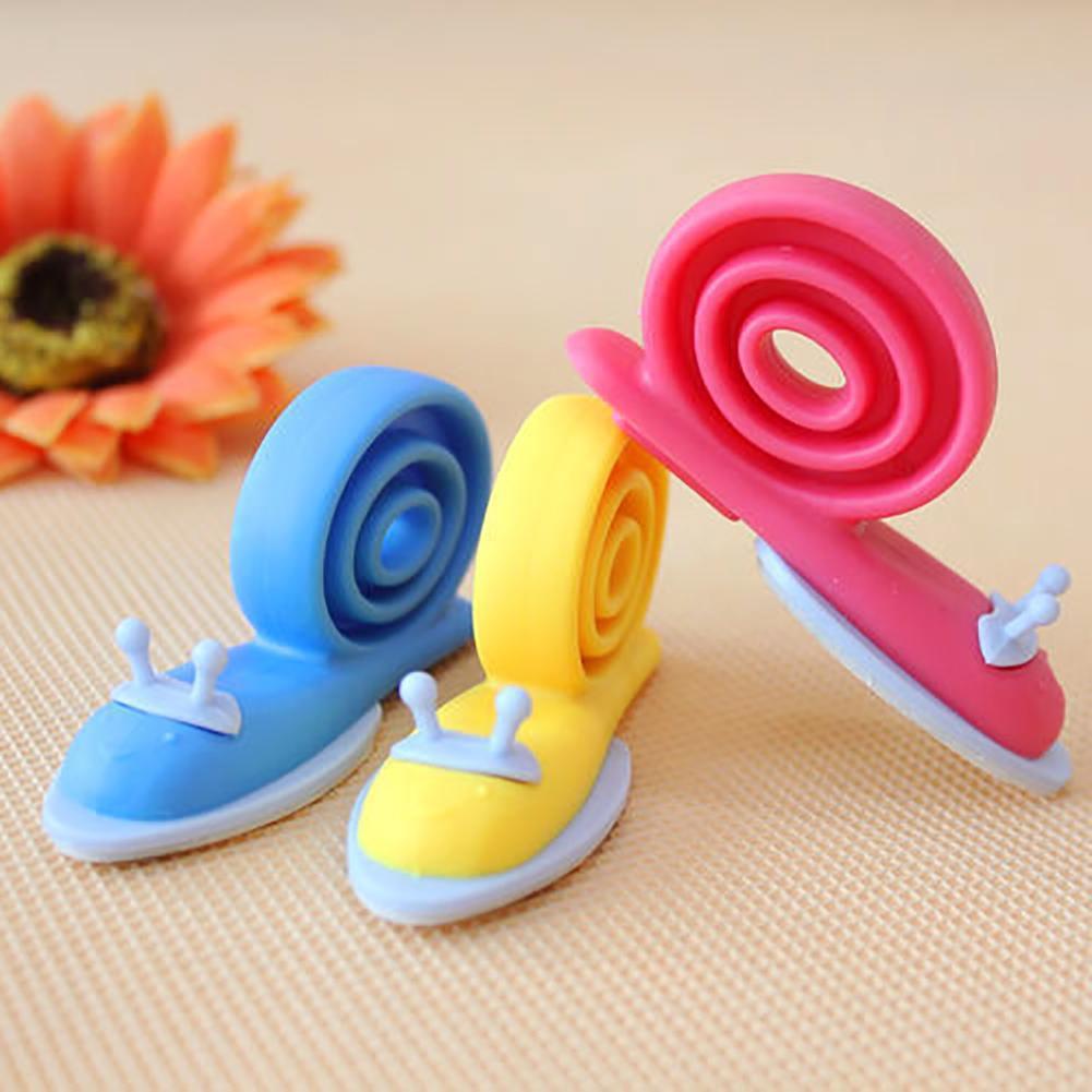 3Pcs Multicolor Snail Shape Anti-folder Proof Pinch Baby Safety Door Stopper Lock New