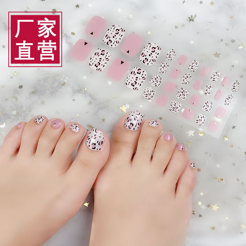 Auspicious Hot Sales Toe Foot Pad Nail Sticker Toenails Nail Sticker 34 Refers-