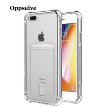 Oppselve Luxury Clear Silicone Soft TPU Case For 7 8 6 6S Plus 7Plus 8Plus X XS MAX XR Transparent Phone iPhone 6sPlus