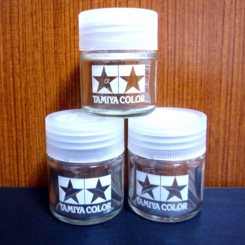 3pcs X Tamiya 81041 Model Paints & Finishes Mixing Hobby Jar Net 23ml