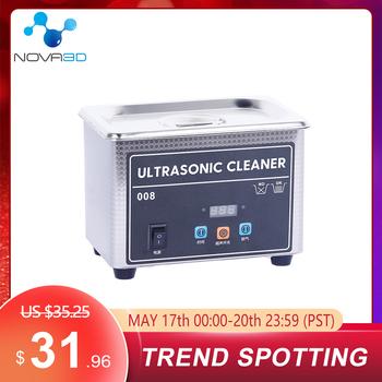 3D drukarki ultradźwiękowy środek czyszczący UV Model z żywicy do mycia do czyszczenia ultradźwiękowego 800ml ze stali sprzęt stalowy dla LCD SLA 3d drukarki tanie i dobre opinie NOVA3D CN (pochodzenie) Części sprzętu Części do maszyn Ultrasonic Cleaner