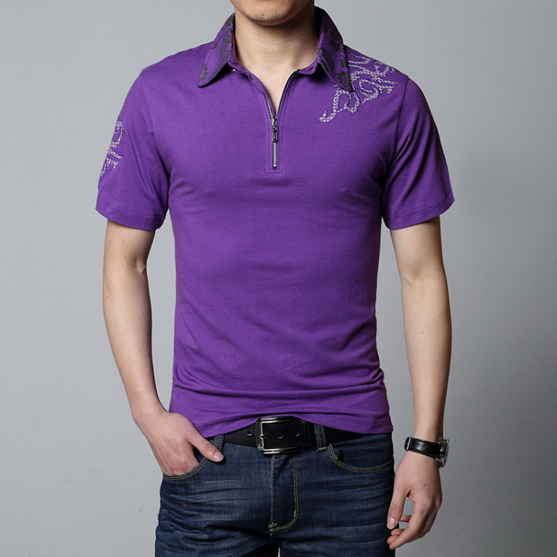 Casual 23 Design Style Brand 95% Cotton Summer Solid POLO SHIRT Short Sleeves Men Fashion Plus Size M-5XL 6XL Tops Tees Clothes