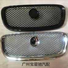 Para jaguar xf xf 2008-2016 carro-estilo abs frente grill capa guarnição peças de reposição de automóveis 1pc