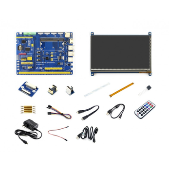 Waveshare  Raspberry Pi Compute Module 3+ Accessory Pack Type B, CM3+ IO Board, HDMI LCD, DS18B20, IR Remote Controller