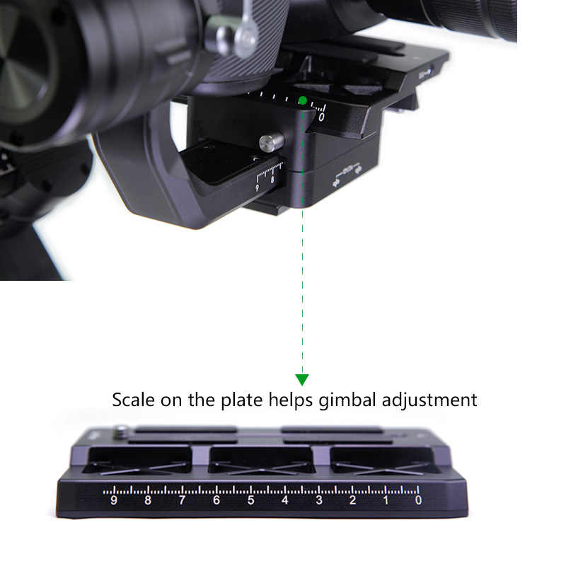 Lanparte Ronin S Offset Plate For Bmpcc 6k 4k For Blackmagic Design Pocket Cinema Camera For Dji Gimbal Camera Accessories Photo Studio Accessories Aliexpress