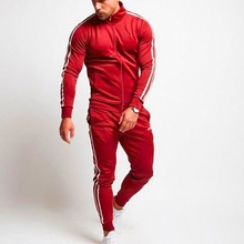 WENYUJH 2019 Autumn New Mens Hoodie Pants 2 / Set Of Sweatshirts Sports Gym Fitness Shirt Jogging Sportswear