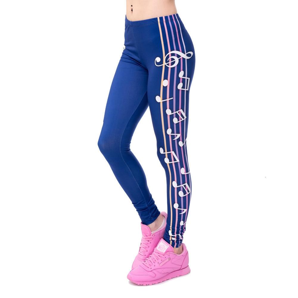 Brands Women Fashion Legging Aztec Round Ombre Printing leggins Slim High Waist  Leggings Woman Pants 55