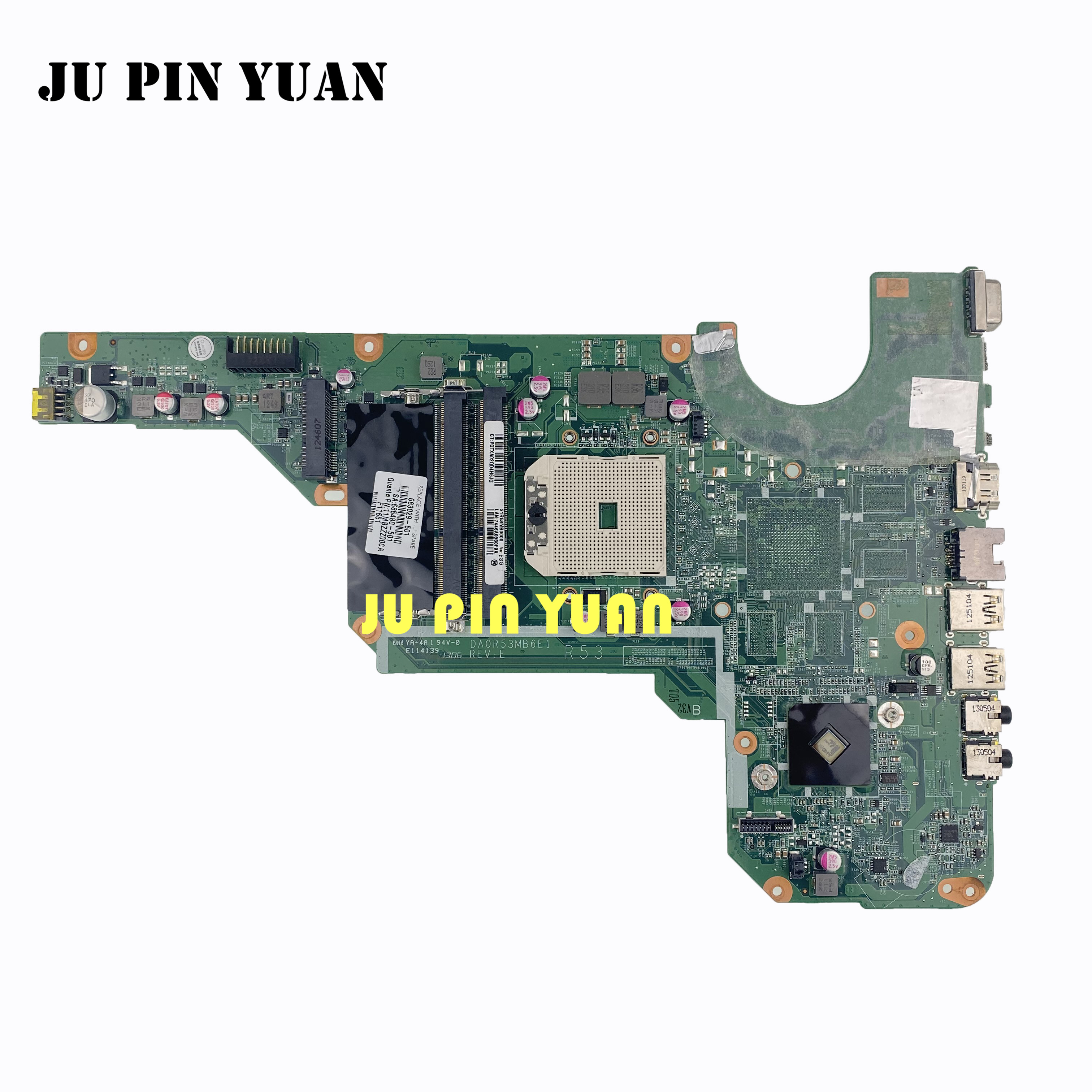 683029-501 683029-001 For HP Pavilion G4 G6 G7 G4-2000 G6-2000 Series Motherboard All Functions Fully Tested
