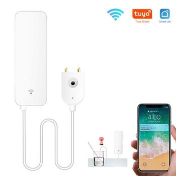 Tuya Home Alarm Water Leakage WIFI Leak Sensor Flood Overflow Detector Security System Alert No Hub - discount item  14% OFF Security Alarm
