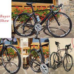 Image 5 - Carbon Road Bikeล้อโปรไฟล์ 35/38/45/50/55/75 มม.ภายในสำหรับtubeless 700Cจักรยานล้อดึงตรงR36 Hub