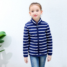 Warm Soft Polar Fleece Striped Child Coat Baby Girl Boy Jackets Windproof Children Outerwear Clothing Kids Outfits For 75-125cm цены
